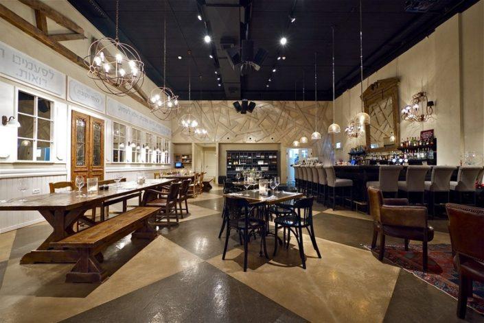 עיצוב מרהיב למסעדות יוקרה