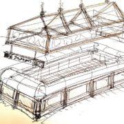 תרשים לעיצוב מבנה מסחרי