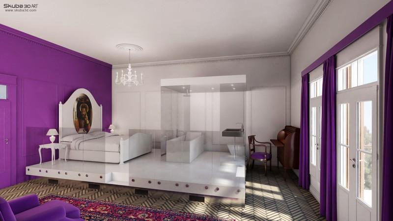 עיצוב מדהים למלון בוטיק בנווה צדק