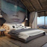עיצוב פנים חדרים בבתי מלון בוטיק