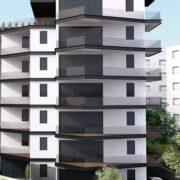 הדמיה של בניין מגורים בגבעתיים