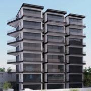 תמוה של הדמיה לבניין מגורים