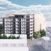 עיצוב מהפנט לבניין מגורים בעיר בגעתיים