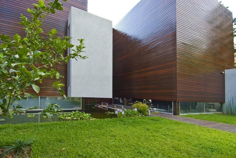 עיצוב מרהיב לבית בסגנון מעץ