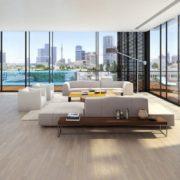עיצוב יוקרתי לסלון יוקרתי בתל אביב