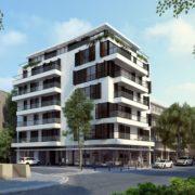 עיצוב בנייין מגורים בתל אביב